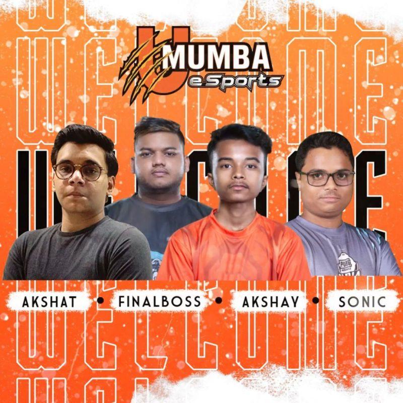 UME new lineup pubgm