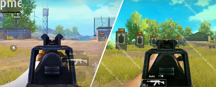 Beryl New Iron sight update in PUBG Mobile