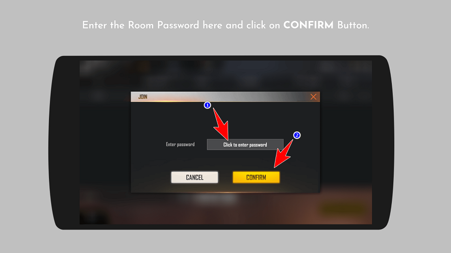 FreeFire Room Password - PlayerZon