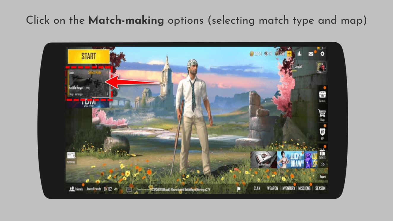 Match Making Options