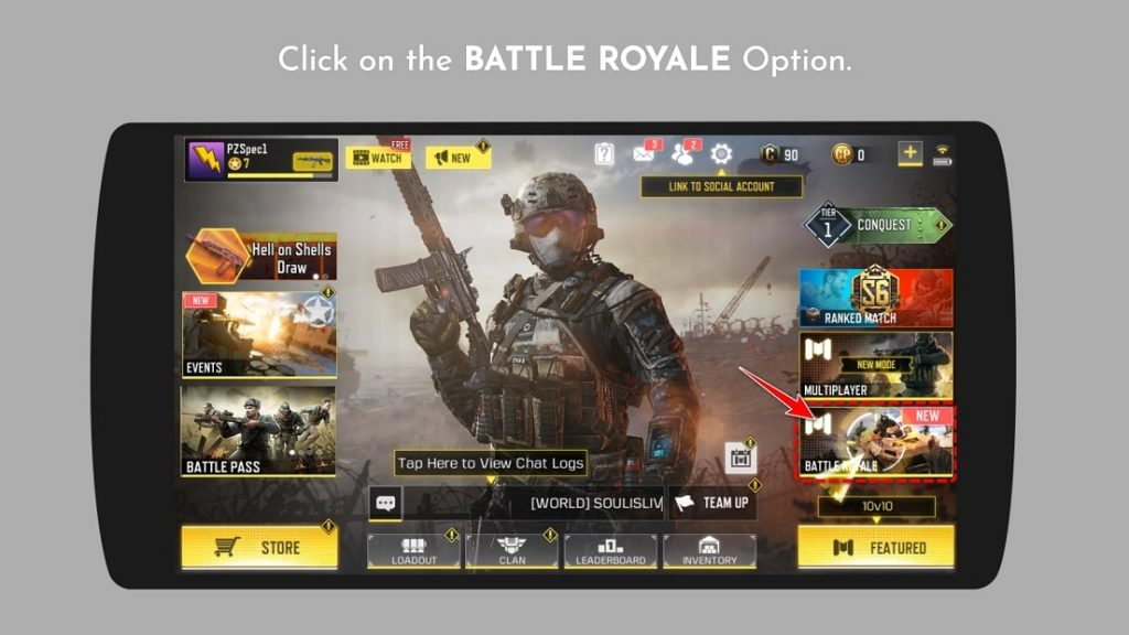 Battle Royale Private Room Call Of Duty Mobile