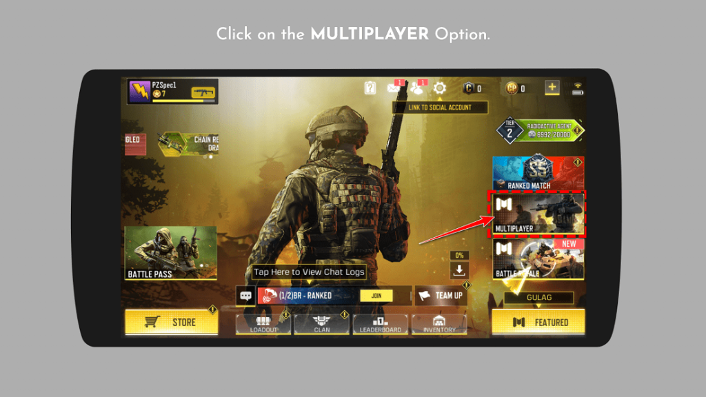 How to Join Call Of Duty Mobile Custom Room