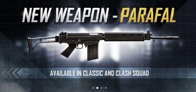 Parafal new weapon