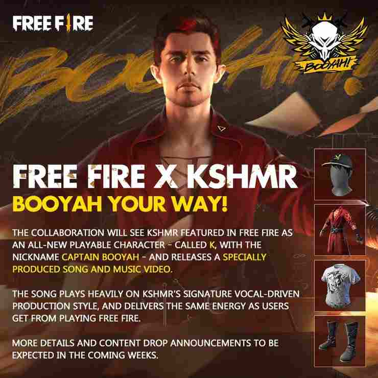 Free Fire new character