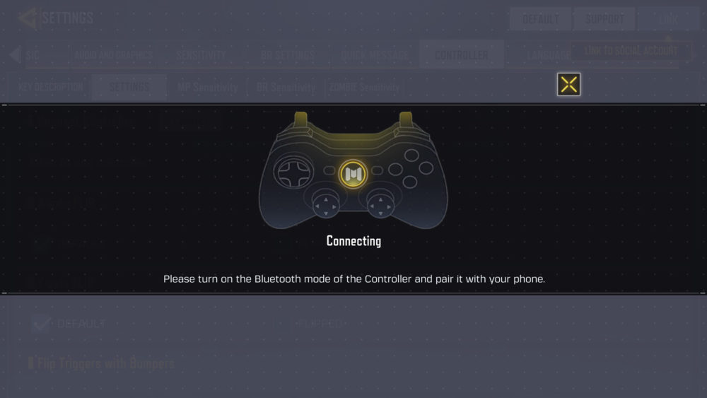 Call-of-Duty-Mobile-with controller