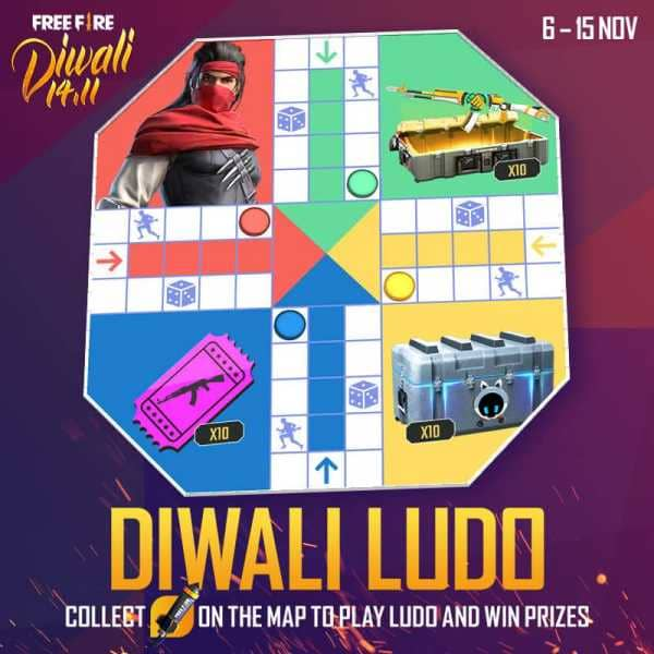 Diwali Ludo in free fire