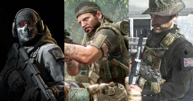 Characters of COD