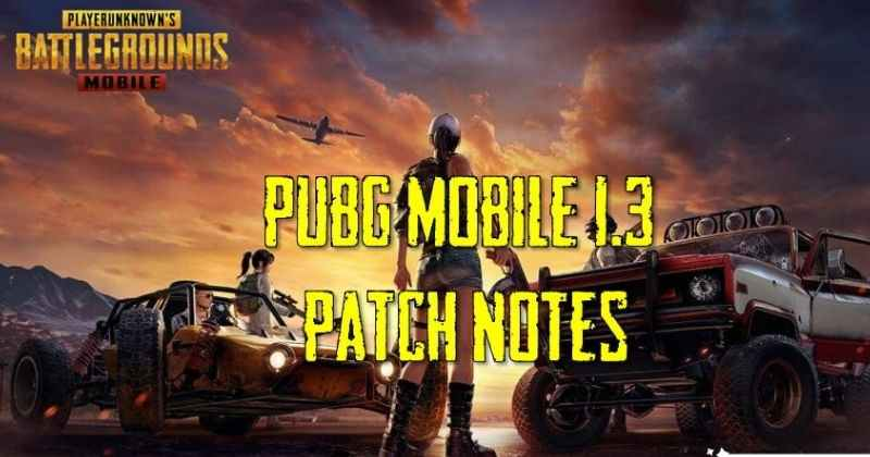 PUBG Mobile 1.3 Beta Update