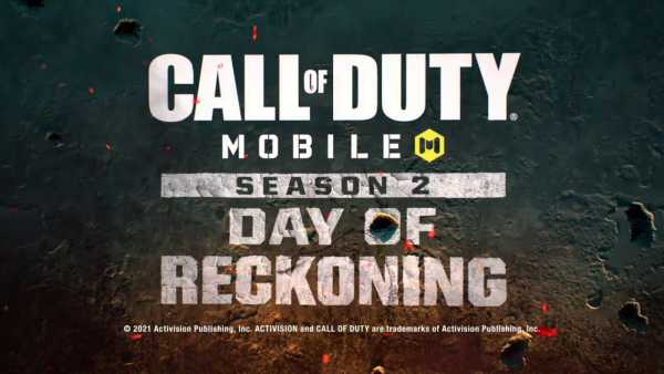 COD Mobile season 2 day of reckoning