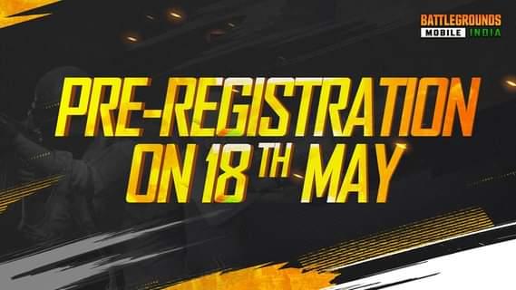 Battlegrounds Mobile India Pre Registration Dates