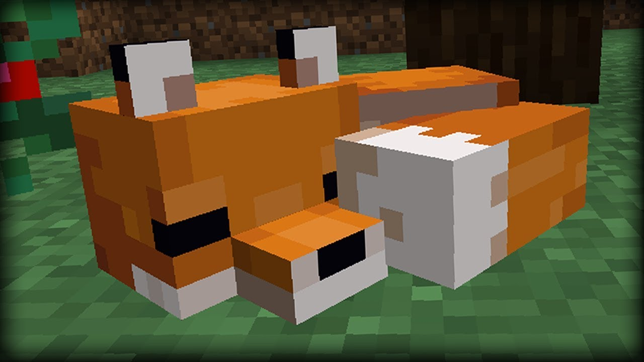 Minecraft Taming Foxes
