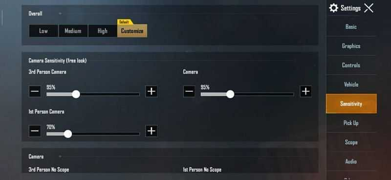 Best Sensitivity Settings for Battlegrounds Mobile India (BGMI)