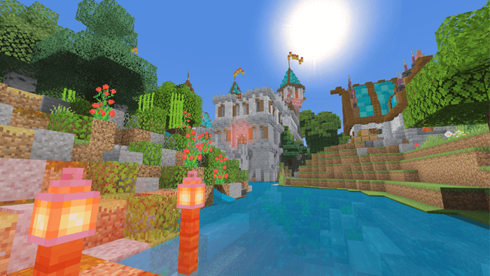 pisces BE shaders for Minecraft Bedrock Edition