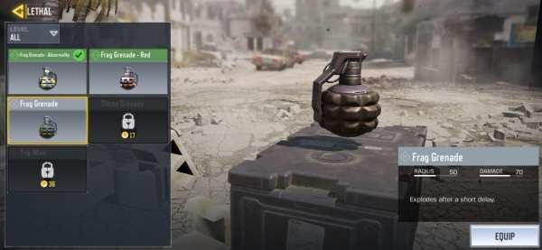 Grenades in BGMI