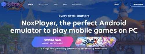 Nox Player emulator